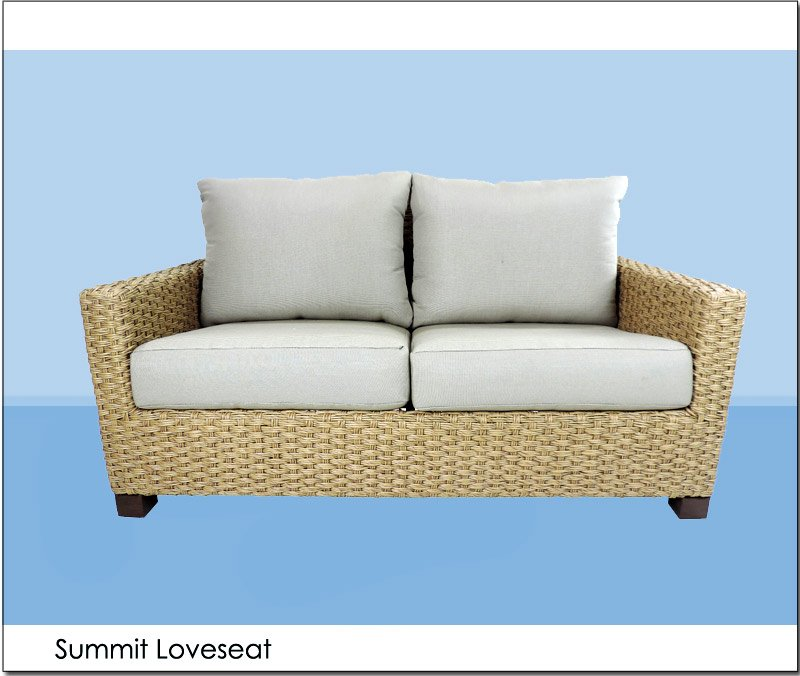 Summit Loveseat Front Events Furniture Rental By Patio