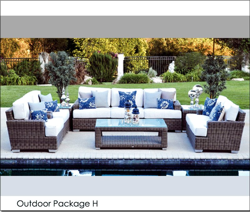 & Outdoor Package H - Events Furniture Rental by Patio Heaven