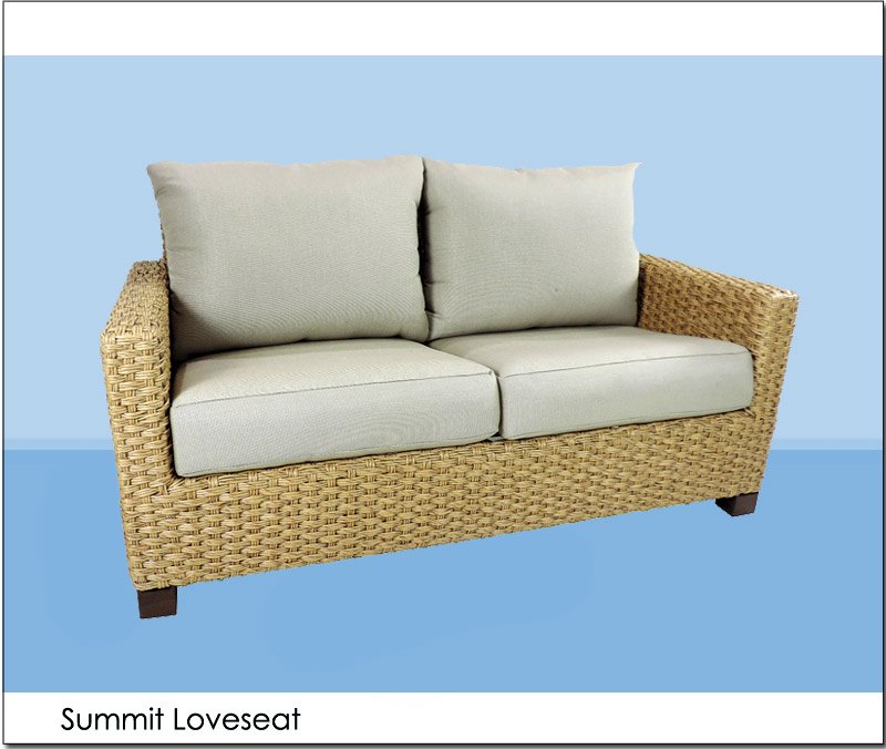 Summit Loveseat Angle Events Furniture Rental By Patio