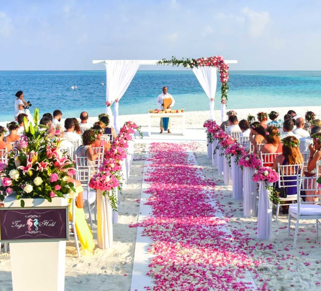 Furniture Rental for Outdoor Wedding Ceremony