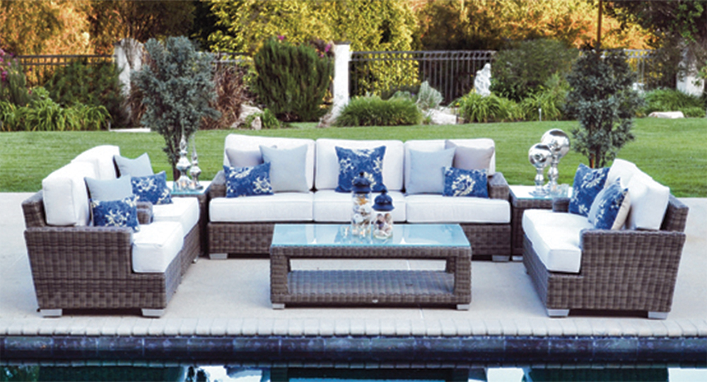 Outdoor furniture rental in los angeles by patio heaven for Outdoor furniture los angeles